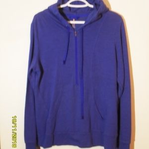 WOMEN'S HALF ZIP HOODIE BY LUCY SIZE LARGE